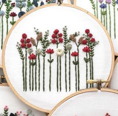 Crewel Embroidery Kits, Hand Embroidery Designs, Cross Stitch Embroidery, Machine Embroidery, Embroidery Ideas, Embroidery Thread, Embroidery Supplies, Cross Stitches, Embroidery Tattoo