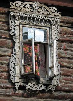 19th century folk art located in Sergiev Posad, Russia.