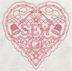 Machine Embroidery Designs at Embroidery Library! - Vintage and Redwork