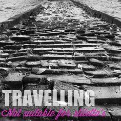 Travelling - not suitable for stilleto's @ Vat Phou near Pakse, Laos