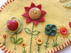 Embellished button details