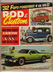 Rod u0026 Custom Car Magazine July 1968 1929 Phaeton 1932 Ford Dual Deuce El Camino & Custom Rodder October 1958 Old Vintage Car Magazine Classic Hot ... markmcfarlin.com