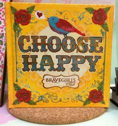 Choose Happy - Inspiration book.