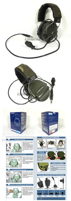 EbairSoft Airsoft parts & Tactical Gear - G Z tactical ZSordin Headset z111