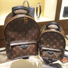 Louis Vuitton Palm Spring Backpacks PM & MINI size comparisons