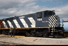 RailPictures.Net Photo: LSRC 798 Lake State Railway MLW M420W at Bay City, Michigan by Robert Jordan