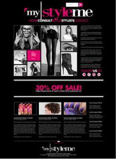 A website I designed I designed for My StyleME.