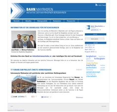 www.bahnmayrhofen.at Rss Feed, Website, Mayrhofen, Landing Pages, Education