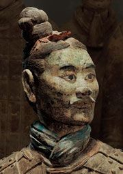 Warriors Tombs and Temples - China's Enduring Legacy at the Bowers Museum in Santa Ana.    Small collection of those taracotta warriors from the 1st Chinese Dynasty - awe inspiring that thousands were created and buried in the 11 short years of this ancient dynasty! Worth seeing.