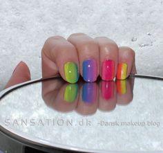 Rainbow nails / Regnbue negle