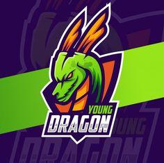 Download 68 Ide Dragon Mascot Logo Logo Keren Desain Logo Gambar Naga