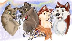 Balto's family by Catnip1996 on @DeviantArt
