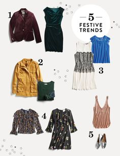 Get Inspired by Hundreds of Outfit Ideas for All Styles 5 Holiday Fashion Trends to Stock Up On Summer Fashion Trends, Holiday Fashion, Holiday Outfits, Latest Fashion Trends, Winter Fashion, Trendy Fashion, Party Outfits, Cheap Fashion, Work Fashion