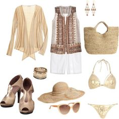Hermes Sandals with Resort Outfit