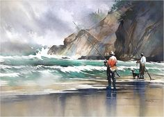 Thomas W Schaller - Watercolor Artist