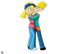 The Patakis Arnold and Helga by Dinoliz.deviantart.com on @DeviantArt