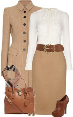 """""""She Own's the Office"""" by chelseagirlfashion on Polyvore"""