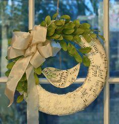 wreath by bailiwickdesigns, via Flickr