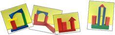 La maternelle de ToT: DEFI MATH - LE TOUT PETIT ROI - CONSTRUCTIONS EN CUBES ET CONSTRUCTO