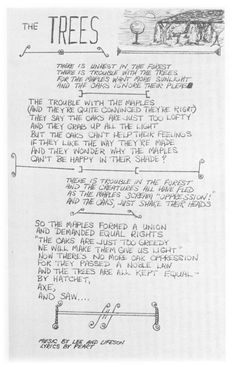The Trees lyrics