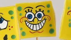 Como decorar biscoitos do Bob Esponja 2