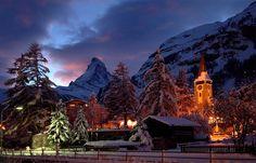 images of christmas scenes in switzerland | Christmas