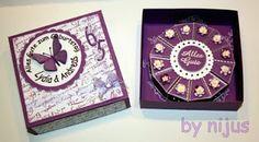 Anett´s Kreativkiste Box Schachtel für Geburtstagstorte aus Papier