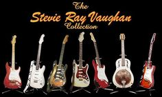 Stevie Ray Vaughn Guitar Collection