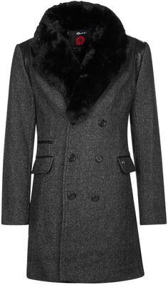 CENT´S Classic coat anthracite