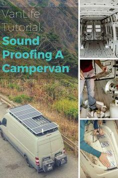 Van Life Discover How to Soundproof DIY Camper Van Conversion Sound Proofing our DIY Camper Van decreased the road noise and rattling of the van. This tutorial shows you how to sound proof a campervan using Rattle Trap sound dampener. Vw Lt Camper, Camper Life, Camper Trailers, Travel Trailers, Sprinter Van Conversion, Camper Van Conversion Diy, Van Conversion How To, Mercedes Sprinter Camper Conversion, Van Conversion Solar
