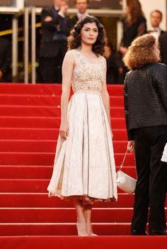 Audrey Tautou in Prada - Cannes Film Festival 2012