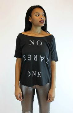 No One Cares Tee | Junk Food