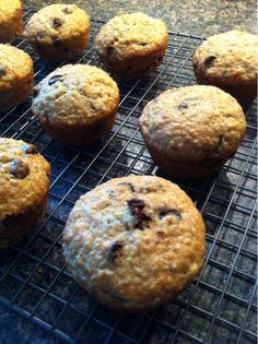 Quinoa Banana Bread Muffins. Moist and delicious.
