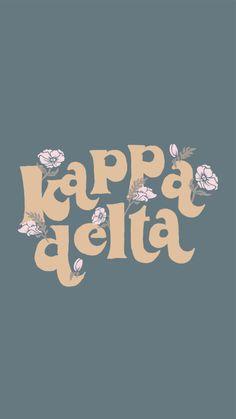 Kappa Delta Canvas, Kappa Delta Sorority, Delta Chi, Sorority Letters, Sorority Canvas, Tri Delta, Alpha Sigma Alpha, Sorority Crafts, Delta Zeta