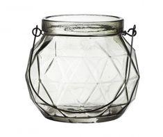 Main Thumb Glass Vase, Jar, Grey, Home Decor, Gray, Decoration Home, Room Decor, Jars, Drinkware