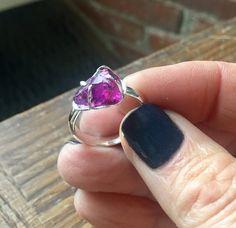 A personal favorite from my Etsy shop https://www.etsy.com/listing/553352790/rhodolite-garnet-ring-sterling-silver