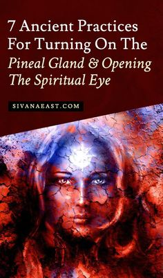 7 Ancient Practices For Turning On The Pineal Gland And Opening The Spiritual Eye. Holistic Health Tips for Beginners, Meditation Spiritual Eyes, Spiritual Health, Spiritual Awakening, Spiritual Wisdom, Spiritual Growth, Spiritual Enlightenment, Chakra Tattoo, Chakra Art, Pineal Gland