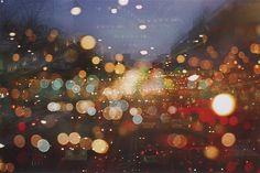 Those City lights on fall nights