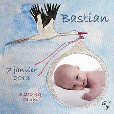 Faire-Part Naissance Suisse avec Photo La cigogne est arrivée! Wordpress, About Me Blog, Kids Rugs, Stork, Switzerland, Baby Newborn, Cards, Bebe, Kid Friendly Rugs