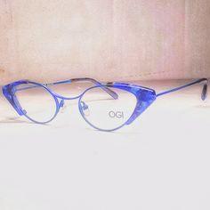 OGI 5300 Titanium 1415 Blue Marble/Blue   Mercari Sunglasses Accessories, Women's Accessories, Latest Fashion Design, Eye Shapes, Prescription Lenses, Marble, Blue, Women Accessories, Granite