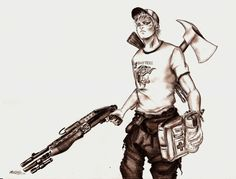 Left4Dead2: Ellis by ~Zackarra on deviantART