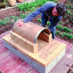 Step 7 - Build an Outside Oven - Sunset