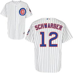 a4f635b3439 Chicago Cubs Authentic Kyle Schwarber Home Cool Base Jersey