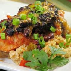 Chicken black bean
