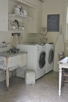 Faded Charm: ~Laundry Room Reveal~