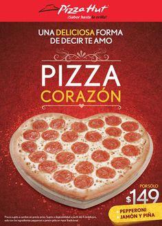Pizza Hut: Pizza de Corazon Pepperoni, Jamón y Piña $149 Pizza Hut cuenta con una muy buena oferta y promoción especial para el día del amor y la amistad o San Valentín, empieza a preparar esos detalles románticos que enamoran a tu pareja. Les dejamos una excelente suger... -> http://www.cuponofertas.com.mx/oferta/pizza-hut-pizza-de-corazon-pepperoni-jamon-y-pina-149/