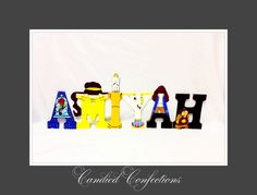 Beauty and the Beast letters.  Follow us on Instagram- candiedconfections  Face books- candiedconfections  Www.candiedconfections.com