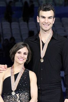 Meagan Duhamel and Eric Radford at 2015 Worlds.jpg [Radford came out in 2014, an active Olympian. Wikipedia]