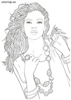 8 Best Fashion Coloring Pages Images Coloring Pages Colorful