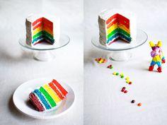 Rainbow Birthday Cake | Flourishing Foodie